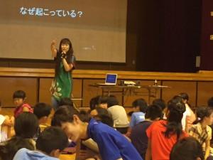 2016/7/6蒲田小学校DET実施中3